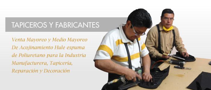 Tapiceros y Fabricantes